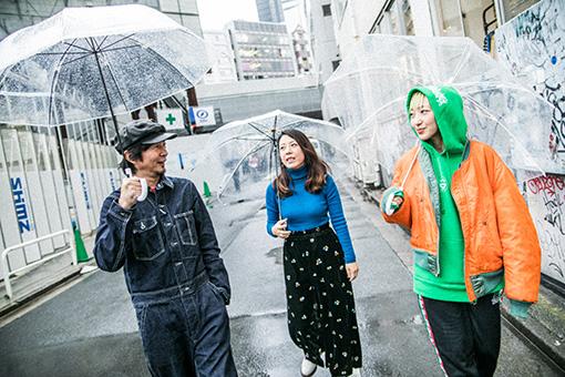 左から:増子直純(怒髪天)、山田佳奈(□字ック)、あっこゴリラ