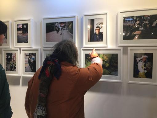 『しゅうかんさんの写真』 / 実際の展示の様子としゅうかんさん