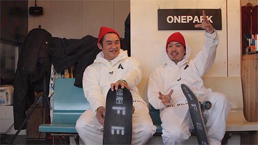 Oneparkで話すBABU、森田貴宏
