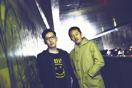 左から:BRIAN SHINSEKAI、高根順次
