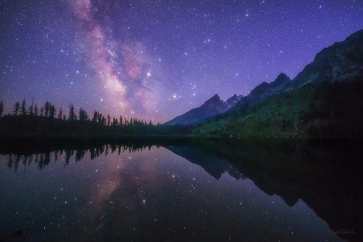 『星の旅 -世界編-』にて使用されている、KAGAYAが撮影した写真