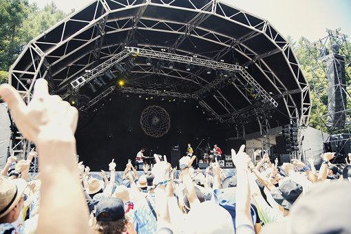 jizue。『FUJI ROCK FESTIVAL '18』