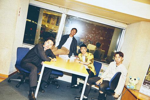 左から:NOPPO、shoji、Oguri、kazuki