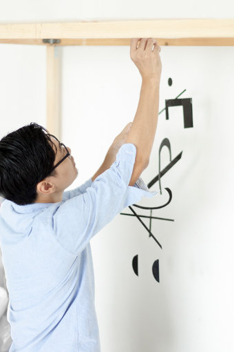 『Typogravity』, Work in progress, Photograph: Kazuharu Igarashi, 2012