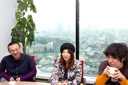 左から:T-マルガリータ、ユコ・カティ、ゲイリー・ビッチェ