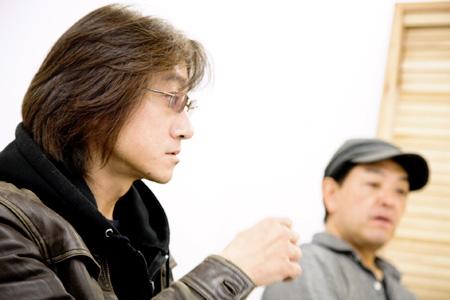 左から:勝井祐二、山本精一
