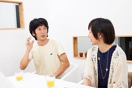 左:ニシハラ☆ノリオ、右:ホナガヨウコ