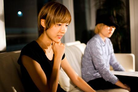 左から:ハルカ、ミユキ