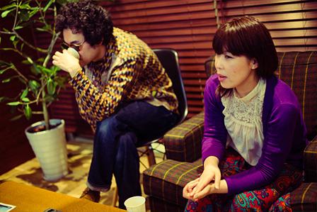 左から:前野健太、石橋英子