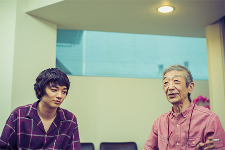 左から:染谷将太、たむらまさき