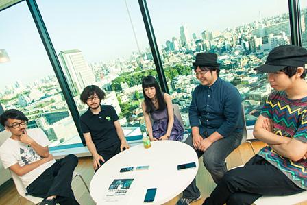 左から:junet、affee、Kuro、tomomi、yuthke