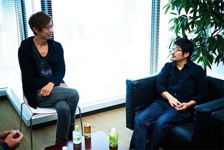 左から:松田晋二、熊切和嘉