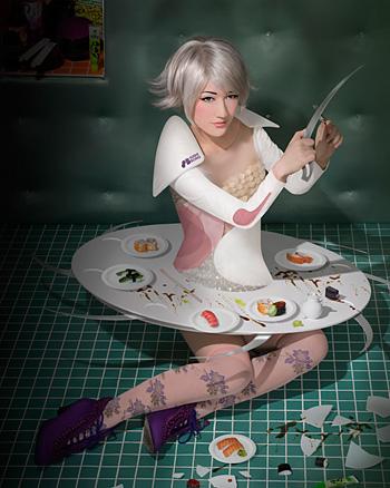 『寿司ボーグ☆ユカリ』 ©Sputniko!