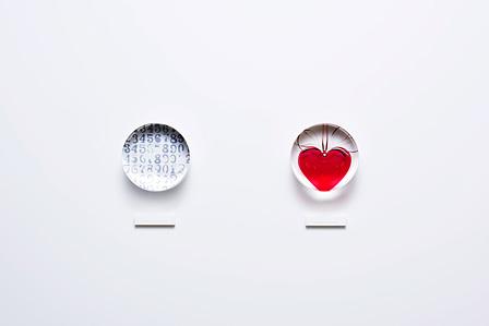 左:山口真人『jasper_johns.sample』2013年、右:山口真人『jeff_koons.sample』2013年