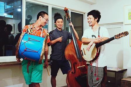 左から:ハブヒロシ、織田洋介、武徹太郎