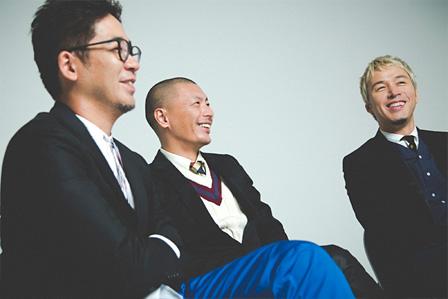 左から:DJ FUMIYA、SU、ILMARI