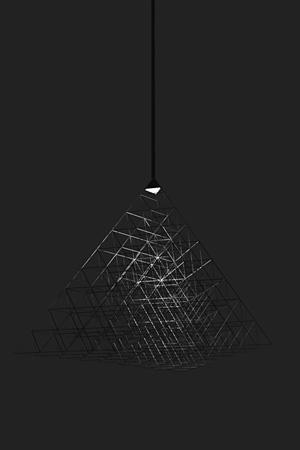 CFRPを用いた照明のデザイン