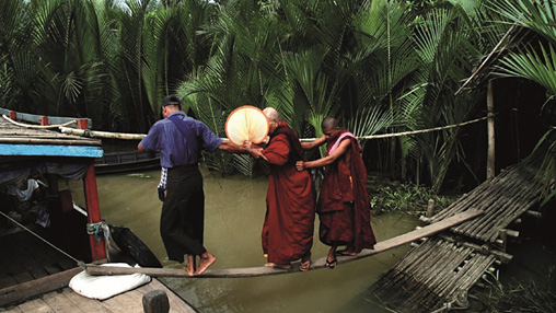 『The Monk』(監督:ティーモーナイン 脚本:アウンミン) 2014年