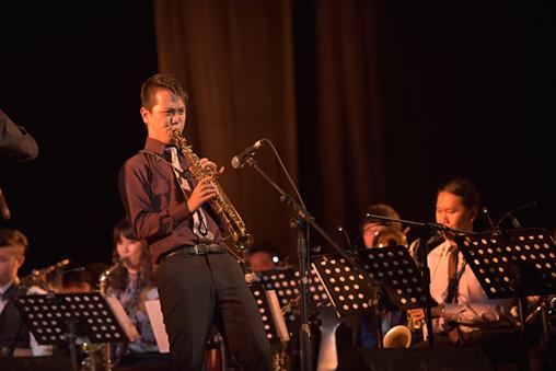 『Asian Youth Jazz Orchestra』 写真提供: 国際交流基金アジアセンター