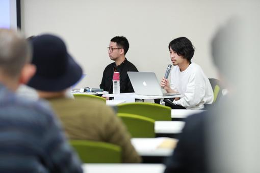 左から:田向潤、山田智和