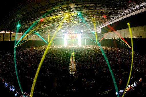 『WANIMA Everybody!! Tour』幕張メッセ公演(2018年4月22日。撮影:瀧本JON...行秀)