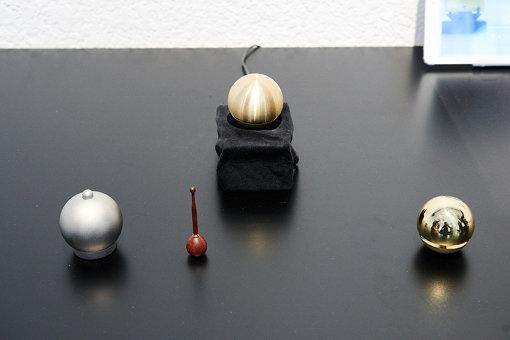 「つくるラボTakaoka」による、遠隔でお鈴が共鳴するプロダクト