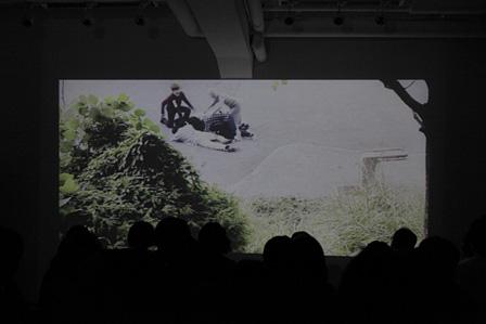 竹内均監督による同名映画『Quartet of the living dead』も上映された。©Tokyo Wonder Site